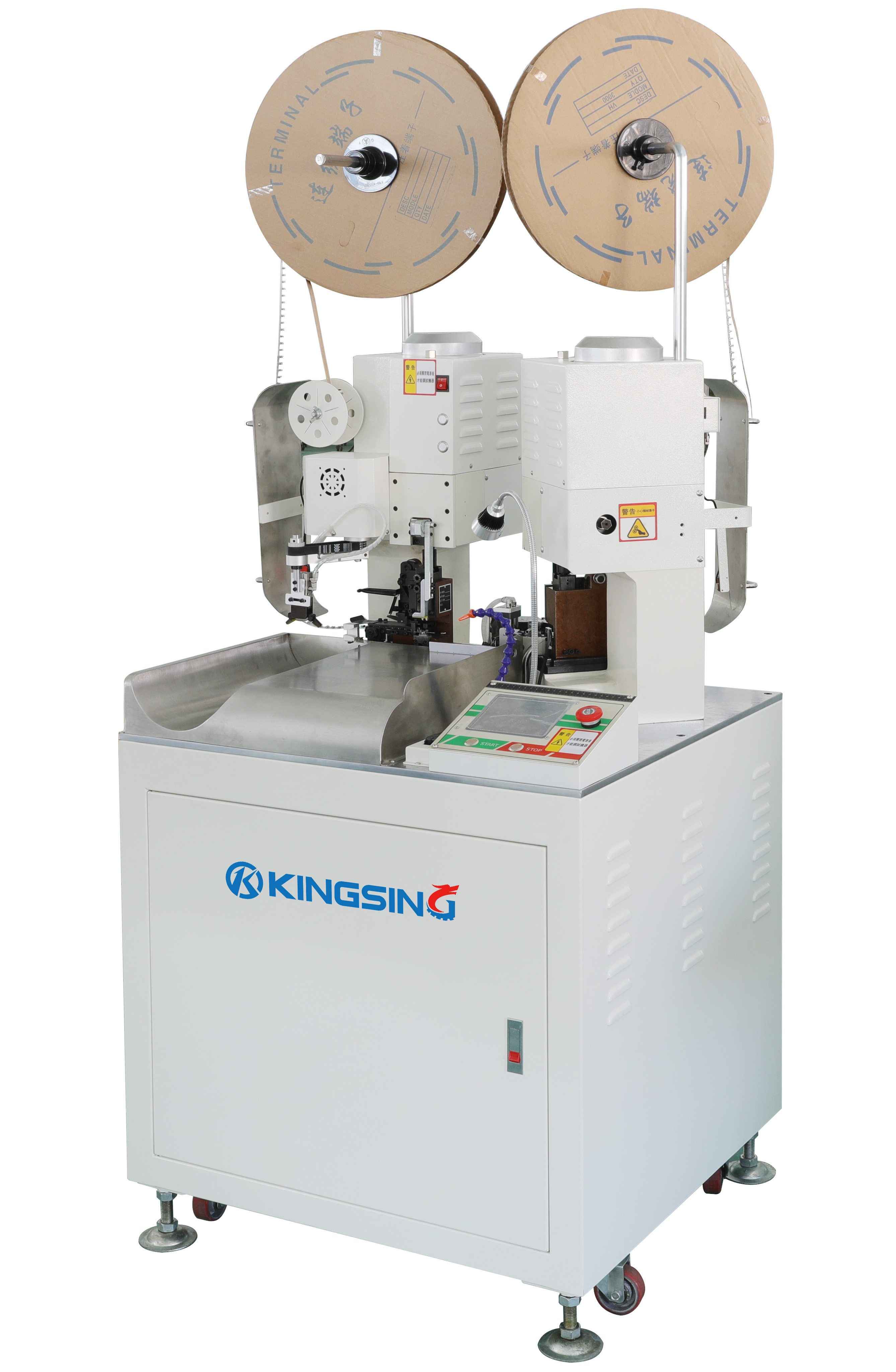 KS-T30* Series of Two Sided Automatic Cut, Strip & Crimp Machines ...