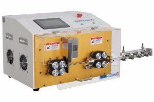 KS-W001 Automatic Belt Feed Cut & Strip Machine up to 15mm OD